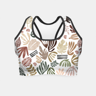 Thumbnail image of Simple nature paintings Crop Top, Live Heroes
