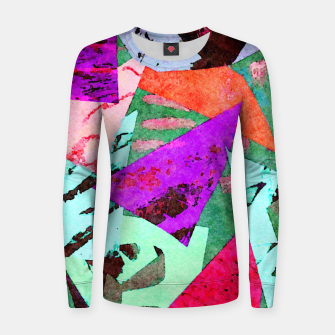 Thumbnail image of Overlap Women sweater, Live Heroes