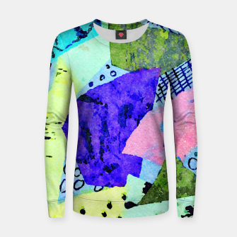 Thumbnail image of Bicycle Lights Women sweater, Live Heroes