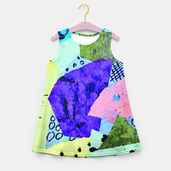 Thumbnail image of Bicycle Lights Girl's summer dress, Live Heroes