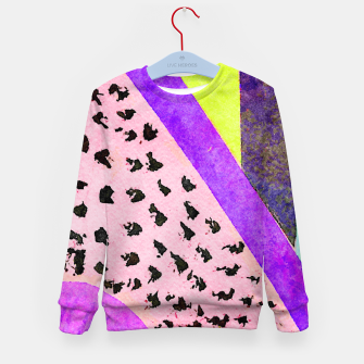 Thumbnail image of beautiful is Temporary Kid's sweater, Live Heroes