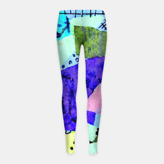 Thumbnail image of Bicycle Lights Girl's leggings, Live Heroes