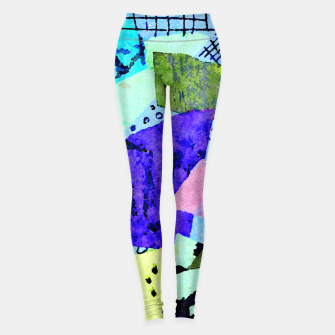 Thumbnail image of Bicycle Lights Leggings, Live Heroes