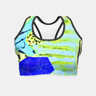 Thumbnail image of Marine Officer Crop Top, Live Heroes