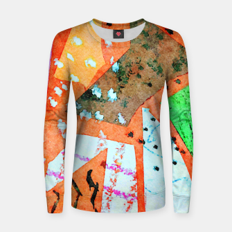Thumbnail image of White patches Women sweater, Live Heroes