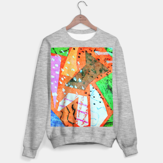 Thumbnail image of White patches Sweater regular, Live Heroes
