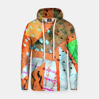 Thumbnail image of White patches Hoodie, Live Heroes