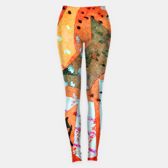 Thumbnail image of White patches Leggings, Live Heroes
