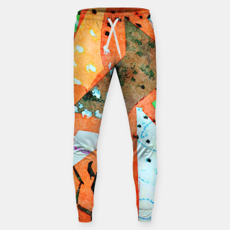 Thumbnail image of White patches Sweatpants, Live Heroes