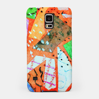 Thumbnail image of White patches Samsung Case, Live Heroes