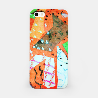 Thumbnail image of White patches iPhone Case, Live Heroes