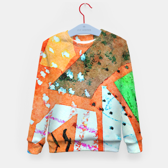Thumbnail image of White patches Kid's sweater, Live Heroes