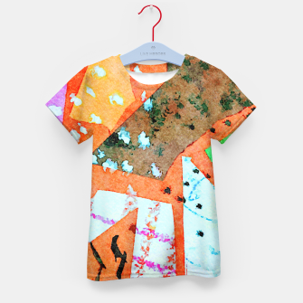 Thumbnail image of White patches Kid's t-shirt, Live Heroes