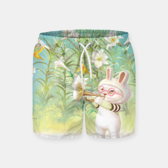 Thumbnail image of Blooming Lily Swim Shorts, Live Heroes
