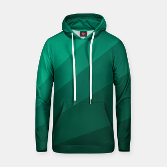 Thumbnail image of Sea green folding hand fan, fresh and simple summer tropical mood design Hoodie, Live Heroes