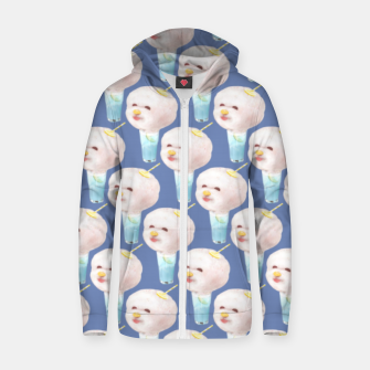 Miniature de image de Cotton Candy Drink Zip up hoodie, Live Heroes
