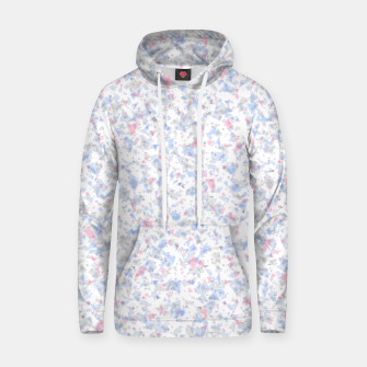 Thumbnail image of Broken marble pastel triangles white pattern light geometric shards Hoodie, Live Heroes