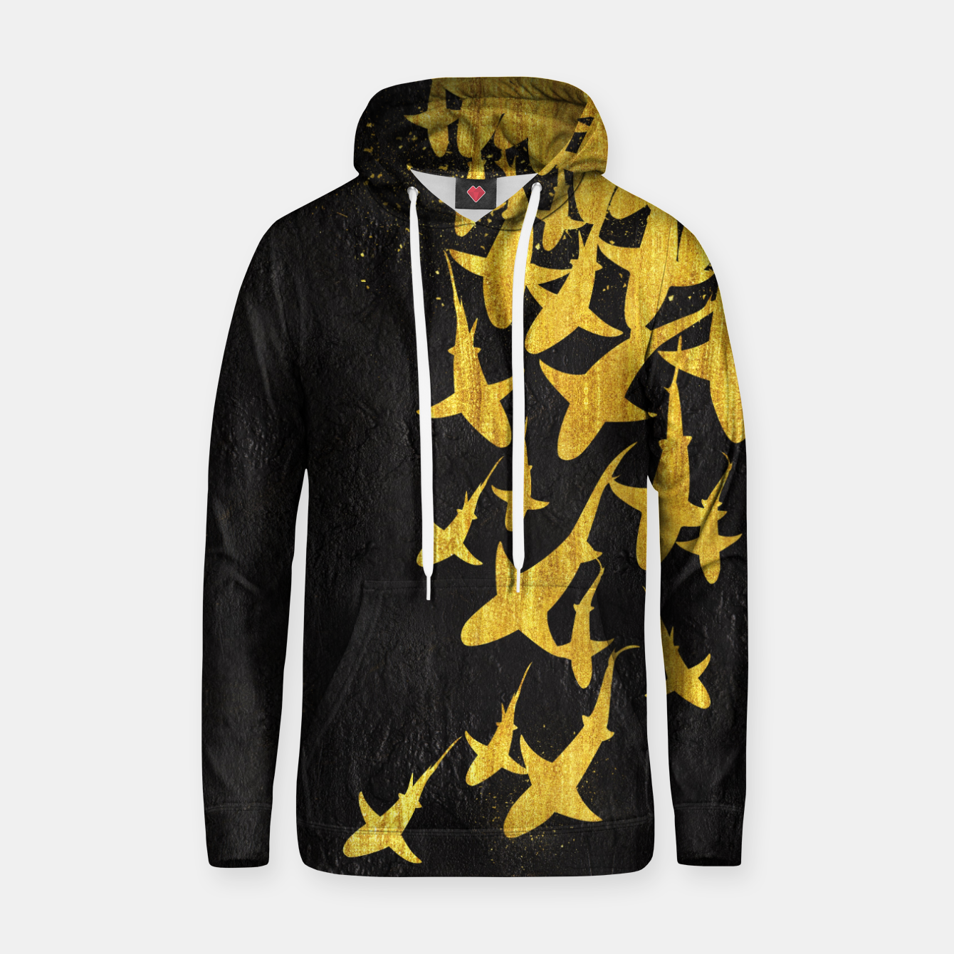 Image of Golden Sharks Sudadera con capucha - Live Heroes