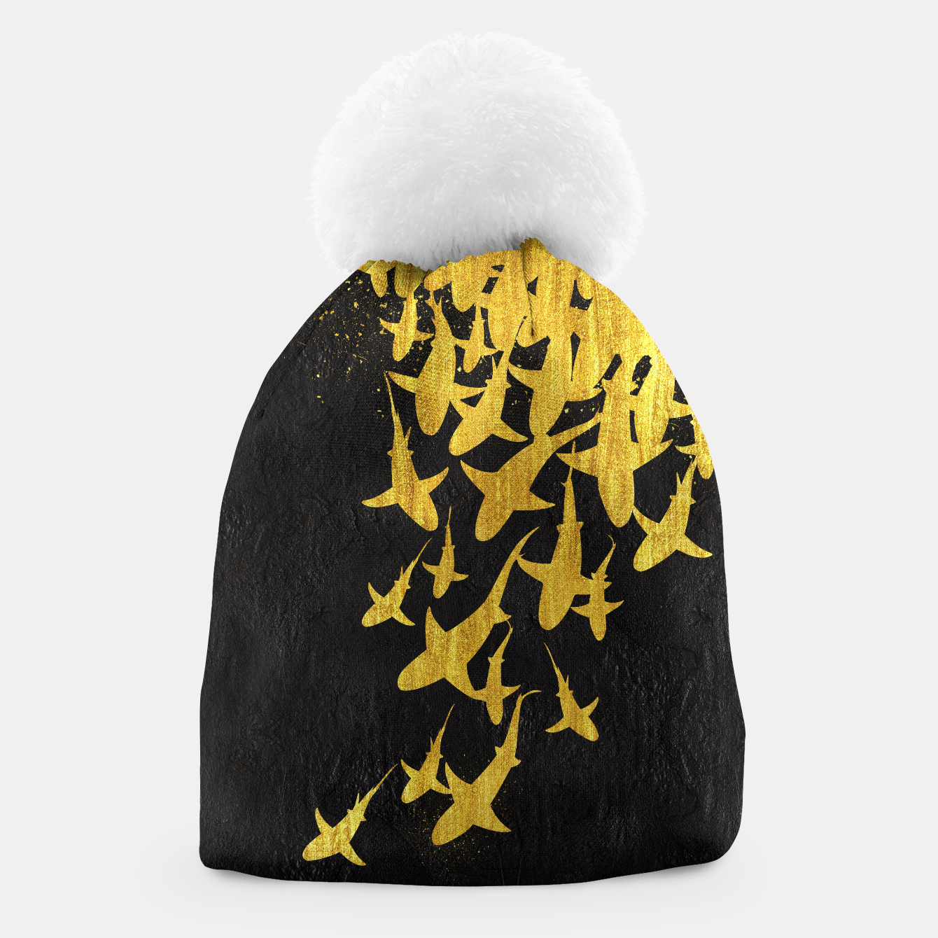 Image of Golden Sharks Gorro - Live Heroes