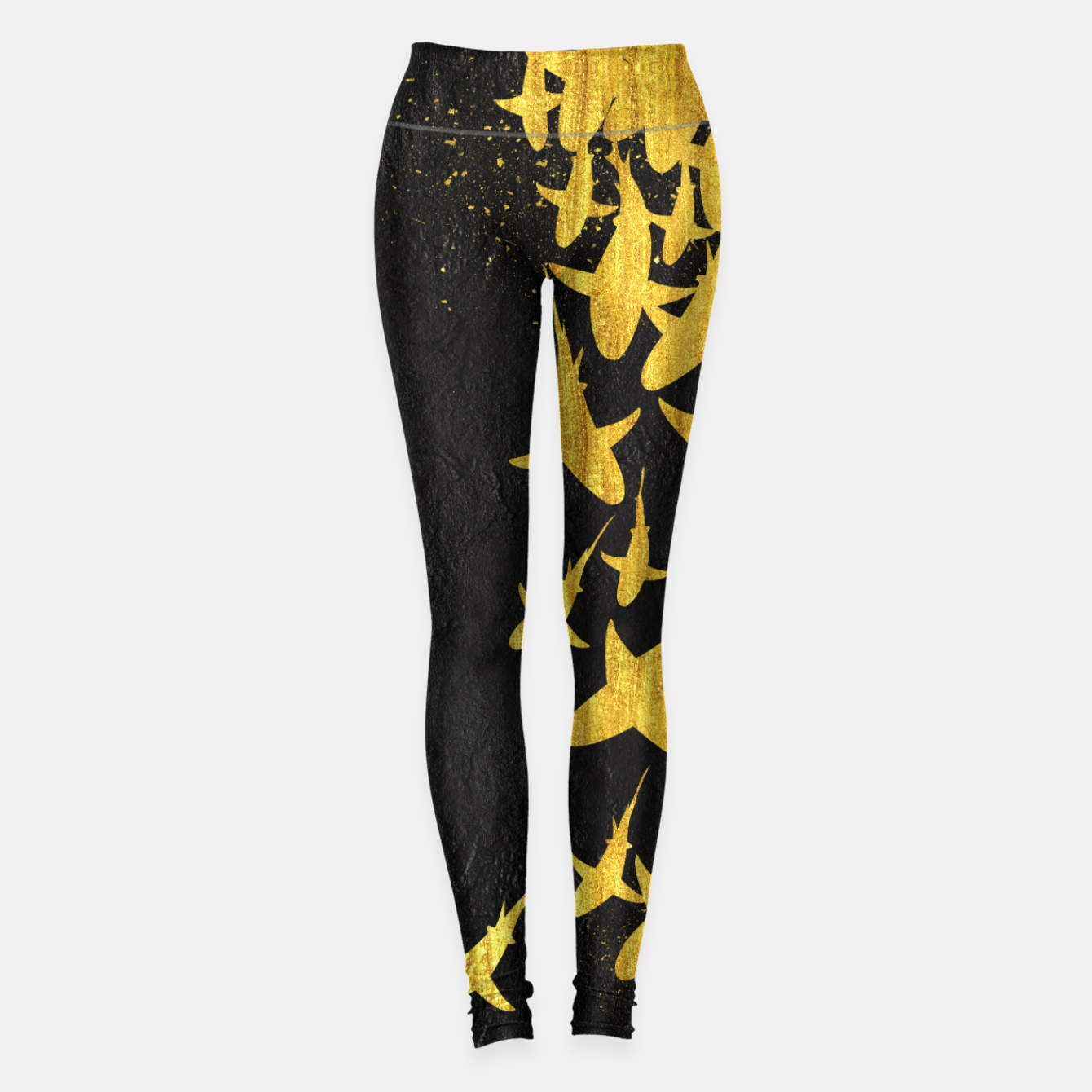 Foto Golden Sharks Leggings - Live Heroes