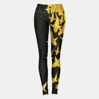 Miniatur Golden Sharks Leggings, Live Heroes