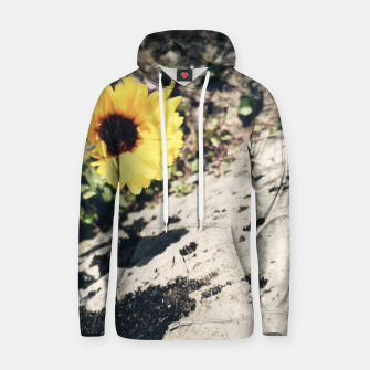Thumbnail image of Photo Fleurs Marguerites Jaune Sweat à capuche , Live Heroes