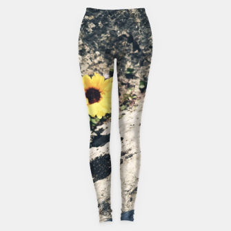 Thumbnail image of Photo Fleurs Marguerites Jaune Leggings, Live Heroes