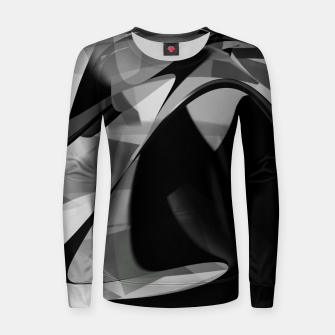 Thumbnail image of Black is the new gold  Women sweater, Live Heroes