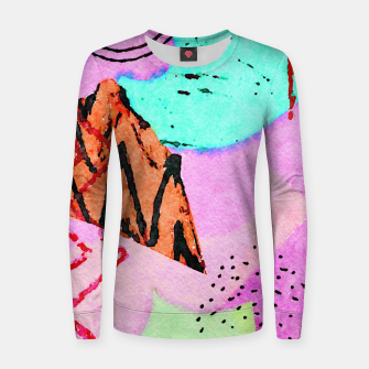 Thumbnail image of Dizzy Women sweater, Live Heroes