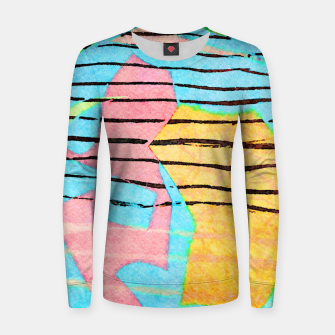 Thumbnail image of Life Lines Women sweater, Live Heroes