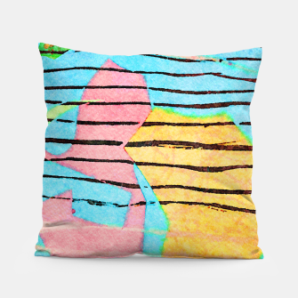 Thumbnail image of Life Lines Pillow, Live Heroes