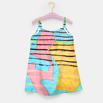 Thumbnail image of Life Lines Girl's dress, Live Heroes