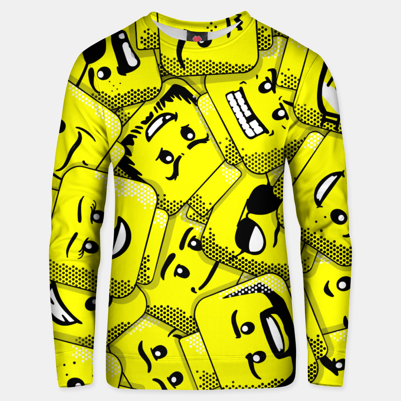 Image of Lego Expressions - Unisex sweater - Live Heroes