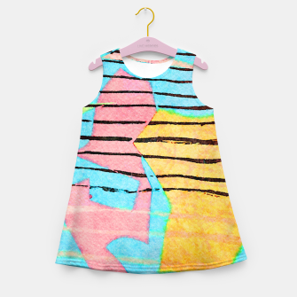 Thumbnail image of Life Lines Girl's summer dress, Live Heroes