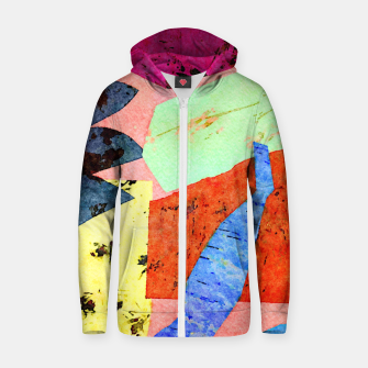 Thumbnail image of Happy Humans Zip up hoodie, Live Heroes