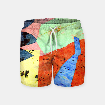 Thumbnail image of Happy Humans Swim Shorts, Live Heroes