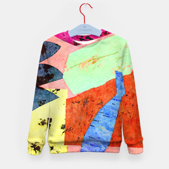 Thumbnail image of Happy Humans Kid's sweater, Live Heroes
