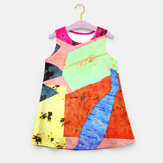 Thumbnail image of Happy Humans Girl's summer dress, Live Heroes