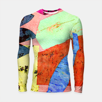 Thumbnail image of Happy Humans Longsleeve rashguard , Live Heroes