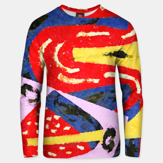 Thumbnail image of Winding Road Unisex sweater, Live Heroes