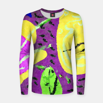 Thumbnail image of The other end of the land Women sweater, Live Heroes