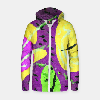 Thumbnail image of The other end of the land Zip up hoodie, Live Heroes