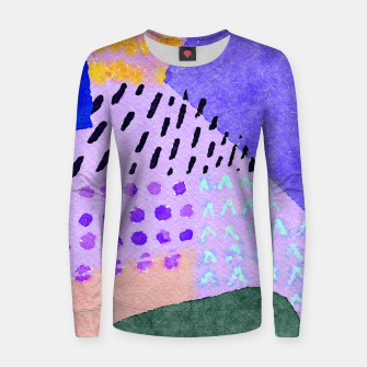 Thumbnail image of Sunny day Women sweater, Live Heroes