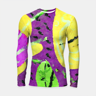 Thumbnail image of The other end of the land Longsleeve rashguard , Live Heroes