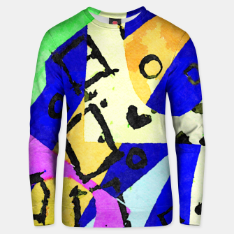 Thumbnail image of Square Field Unisex sweater, Live Heroes