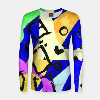 Thumbnail image of Square Field Women sweater, Live Heroes