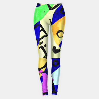 Thumbnail image of Square Field Leggings, Live Heroes
