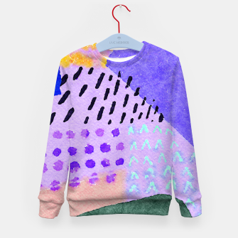 Thumbnail image of Sunny day Kid's sweater, Live Heroes