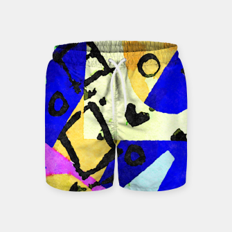 Thumbnail image of Square Field Swim Shorts, Live Heroes