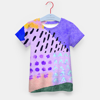 Thumbnail image of Sunny day Kid's t-shirt, Live Heroes